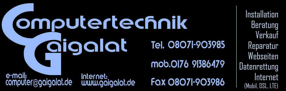 Computertechnik Gaigalat